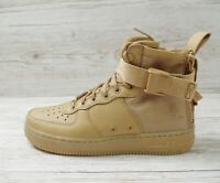 W NIKE SF AF1 MID ELEMENTAL GOLD size UK 5 EUR 38.5 US 7.5 AA3966 700 AIR FORCE