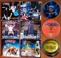 TANKARD - SAME / TANKWART AUFGETANKT 2 CD + KINGS OF BEER CD + BEAST OF BOURBON