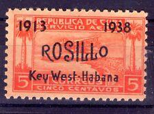 1938 XXV aniversario del vuelo Key West-Habana por el aviador ROSILLO