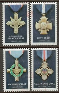 Scott #5065-68 Used Set of 4, Honoring Extraordinary Heroism (Off Paper)