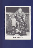 Lorne Worsley 1965-66 Coca-Cola Coke Cards Hockey (EX+) Canadiens