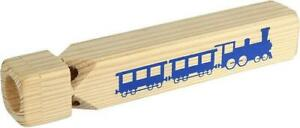 Train Whistle Large Wooden Train Whistle Steam Traditional Tune Toy Sound