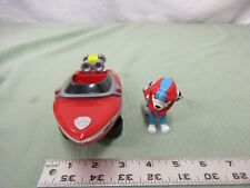 Paw Patrol Marshall & Sea Patrol Boat Vehicle Rescue Safety Protect Red