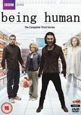BEING HUMAN - THE COMPLETE THIRD SERIES DVD - NEW - SEALED 3DVD