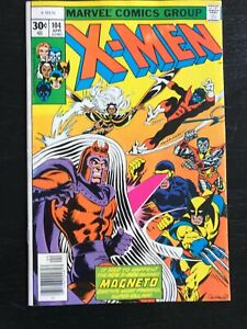 X-Men 104!  First Star Jammers!  Beautiful High Grade Copy!!!