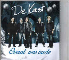 De Kast-Overal Was Vrede Promo cd single