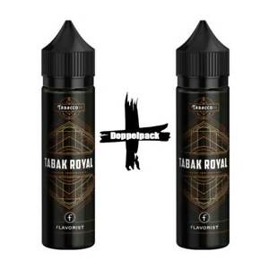 Flavorist Tabak Royal Longfill Aroma Shake and Vape Doppelpack 2x Flaschen Tabac