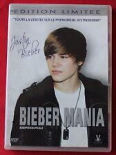 Justin Bieber, Bieber mania - biographie non officiel, DVD