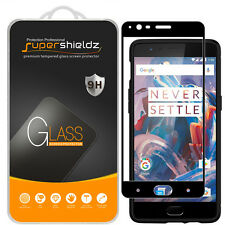 Supershieldz OnePlus 3 / 3T Full Cover Tempered Glass Screen Protector Black
