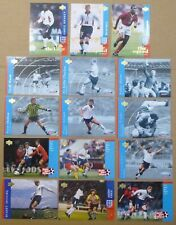 1997/98 UPPER DECK ENGLAND FOOTBALL CARDS Trading Cards x 15 inc ROOKIES
