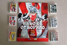 FK Crvena zvezda (Red Star), Nebo se otvorilo - Complete Set + empty Album MINT!