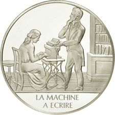 [#490043] France, Medal, La machine à écrire, Sciences & Technologies
