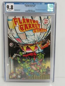 Flaming Carrot Comics #27 (1991) TMNT Ninja Turtles Todd McFarlane CGC 9.8 BT238
