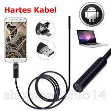 Endoskope 8mm Snake Scope Endoskop Wasserdicht Inspektion Hd Kamera Boroskop Für Andorid Windows Mac Os 2 M Flexible Kabel Usb 6 Led