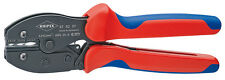 Knipex 975237 Preciforce Crimping Pliers With Multi-Component Grips 8 3/4 In