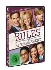 OLIVER/KAJLICH,BIANCA/KALYAN,ADHIR HUDSON - RULES OF ENGAGEMENT S4  2 DVD NEU