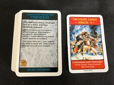 Warhammer Quest Treasure Cards Pack 1 Supplement -