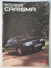 MITSUBISHI CARISMA RANGE orig 1996 Unusual Greek Mkt Prestige Brochure - Greece
