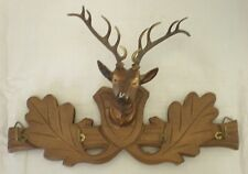 Black Forest Stags Head Key Hooks