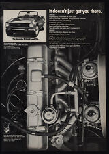 1974 TRIUMPH TR-6 BritishConvertible Sports Car - 6-Cylinder Engine - VINTAGE AD