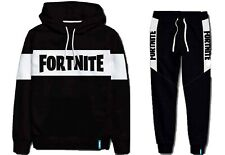 Boys Girls Kids Gamer Fortnite Tracksuit Set Hoody Sweatshirt Sweatpants 9-16Yrs