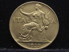 Italia BUONO la poiché 1 LIRA 1922 nichel nr200