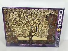 New Eurographics Gustav Klimt Tree Of Life Puzzle 1000 Pieces
