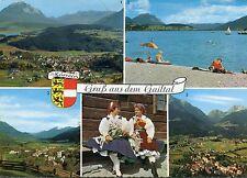 Alte Postkarte - Gruß aus dem Gailtal