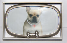 NEW Fuzzy Nation French Bulldog Picture Frame