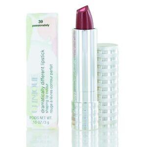 Clinique Dramatically Different Lipstick Shaping Lip Color (39) PASSIONATELY NIB