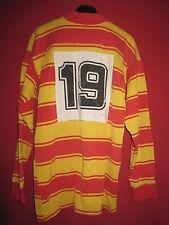 Maillot Rugby Vintage Porté Couleur Perpignan USAP 100 % Coton - 5