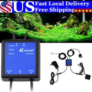 US Aquarium ATO Auto Top Off System Smart Water Level Filler Pump Dual Sensors
