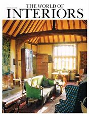 THE WORLD OF INTERIORS 03/2011 GREAT DIXTER Katerina Paouris VINCENT DARRE @excl