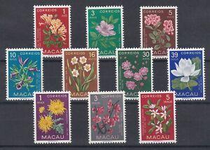 Portugal - Macao/Macau Nice Complete Set MNH 1