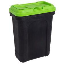 PET food container di immagazzinamento Animale a secco Gatto Cibo per Cani Bird Scatola Grande Nero Verde