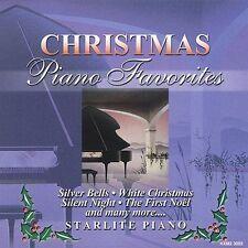 Starlite Piano : Christmas Piano Favorites CD