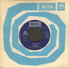 "DAVE BERRY – Little Things / Heartbeat (UK 1976 VINYL SINGLE 7"" REISSUE)"