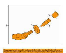 GM OEM Tire Pressure Monitor-Tpms Sensor 25758220