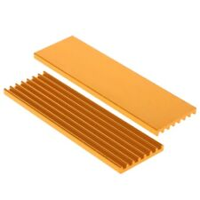 Aluminum Radiator Heatsink For M.2 PCIE Solid State Disk SSD 2280 70x22x3mm