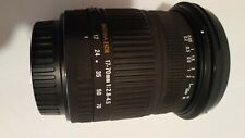 Sigma DC 17-70mm f/2.8-4.5 DC Lens For Canon EF used