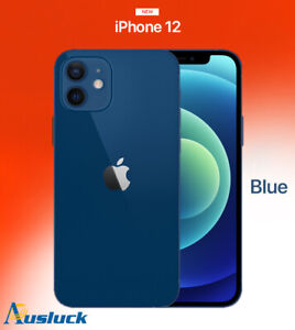 "APPLE iPHONE 12 64GB BLUE UNLOCKED BRAND NEW MGJ83X/A ""AUSLUCK"""