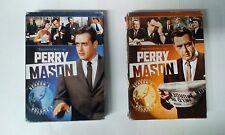 Perry Mason Season 1 vol.1 + 2 DVDs(Raymond Burr,1957 TV show)