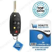 Replacement for Volvo 2004-2012 XC70 2004-2014 XC90 Remote Car Key Fob Entry