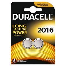 2 x Duracell Batterie CR2016 Lithium 3V Knopfbatterie CR 2016 NEU DL2016