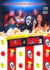 SCARY MOVIE - POPCORN-BOX  2 DVD NEU REGINA HALL/JONATHAN ABRAHAMS/+
