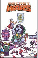 Marvel Comics Secret Wars Skottie Young cover art lithograph