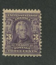 1902 United States Postage Stamp #302 Mint Never Hinged Fine Original Gum