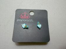 Paparazzi Kids Earrings (new) ICE CREAM CONES - TEAL