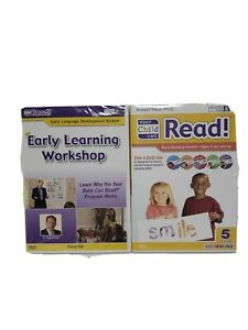 YOUR CHILD CAN READ! Early Reading System 5 DVD Set and Early learning workshop