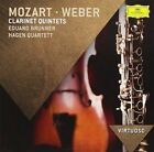 Mozart & Weber Clarinet Quintets - Eduard Brunner and Hagen Quartett - CD S/S